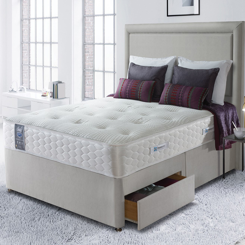 Sealy Jubilee Ortho Divan Set Super King Size