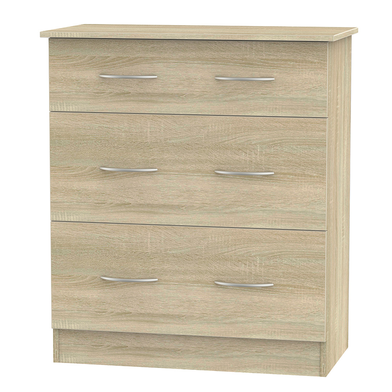 Welcome Furniture Avon 3 Drawer Deep Chest
