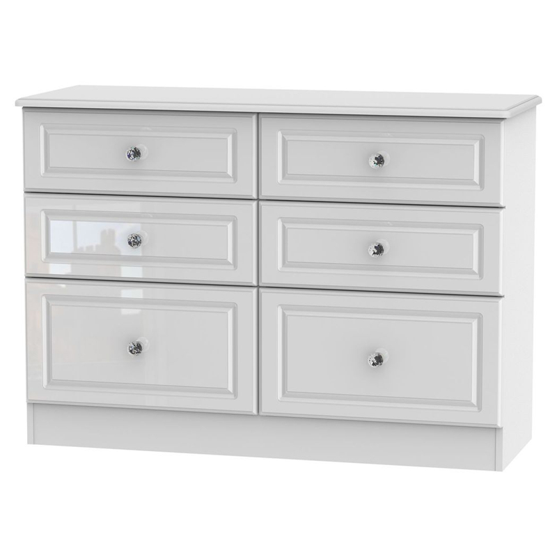 Welcome Furniture Balmoral 6 Drawer Midi Chest