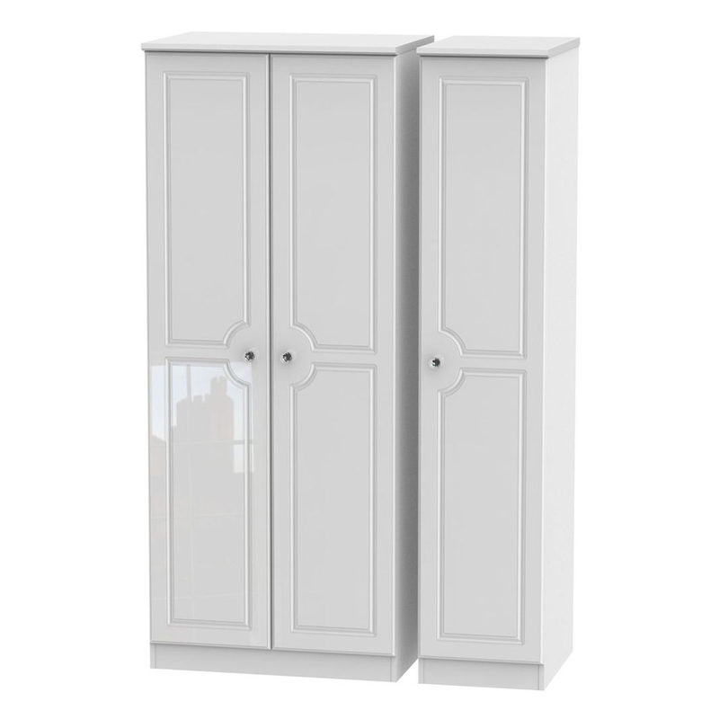 Welcome Furniture Balmoral Triple Plain Wardrobe