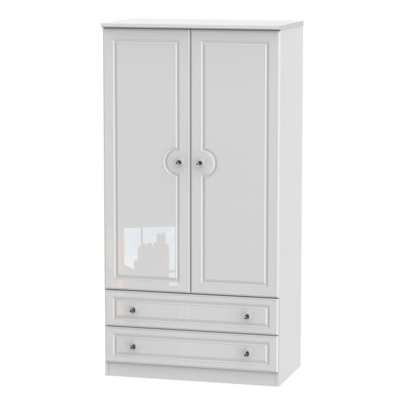 Welcome Furniture Balmoral 3' 2 Drawer Wardrobe