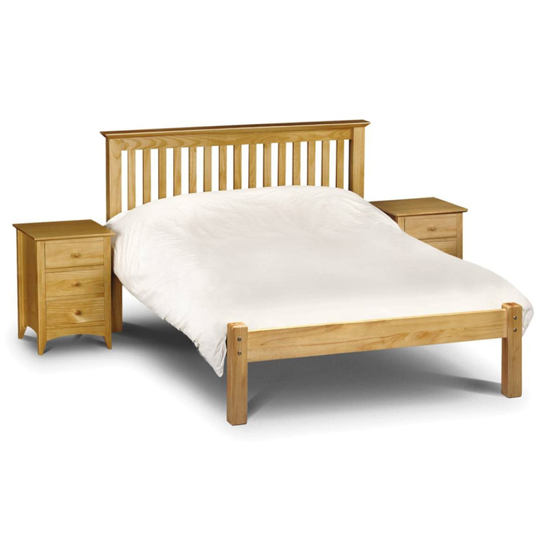 Julian Bowen Barcelona LFE Bed King Size Pine