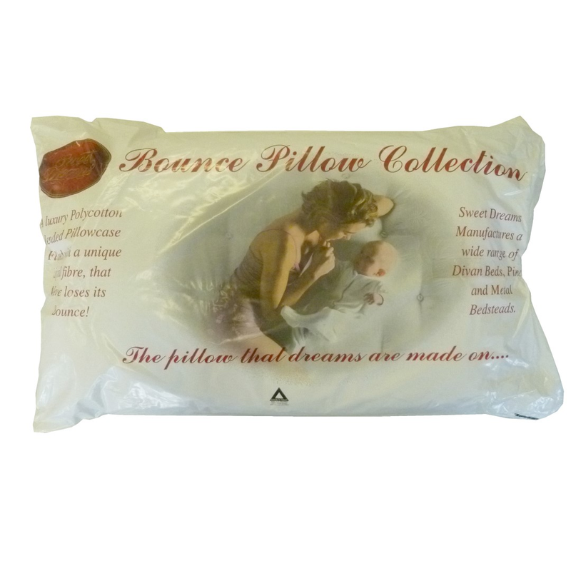 Sweet Dreams Bounce Pillows Hollowfibre