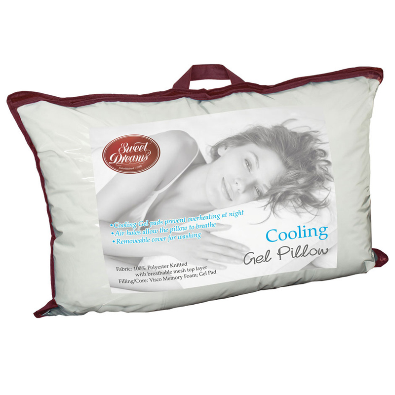 Sweet Dreams Cooling Gel Pillow