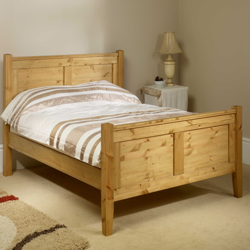 Friendship Mill Coniston HFE Bed Small Double Size Pine