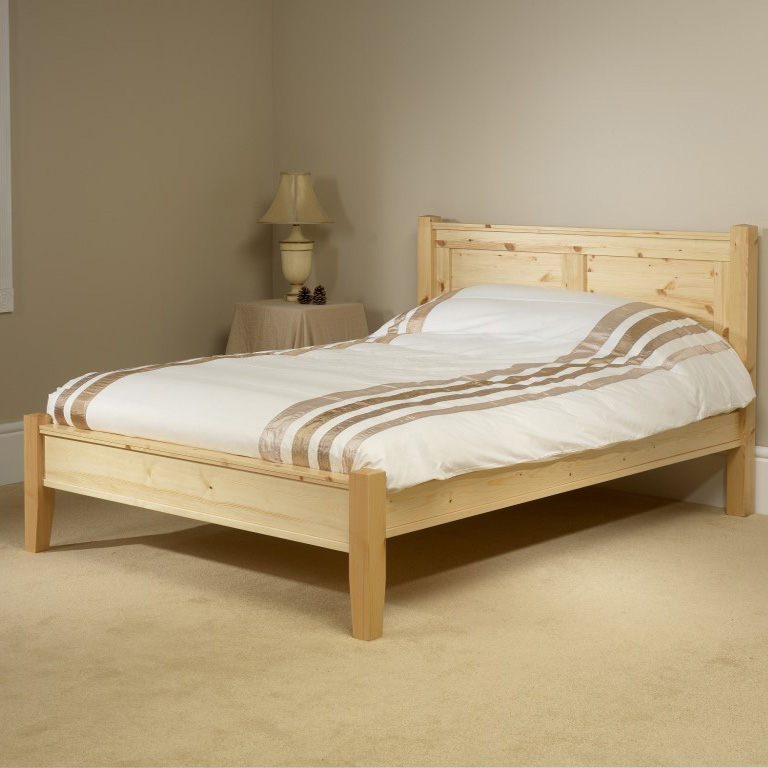 Friendship Mill Coniston LFE Bed Double Size Pine