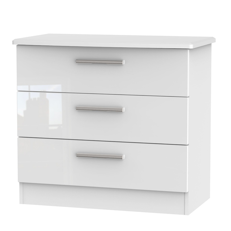 Welcome Furniture Knightsbridge 3 Drawer Chest