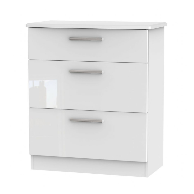 Welcome Furniture Knightsbridge 3 Drawer Deep Chest