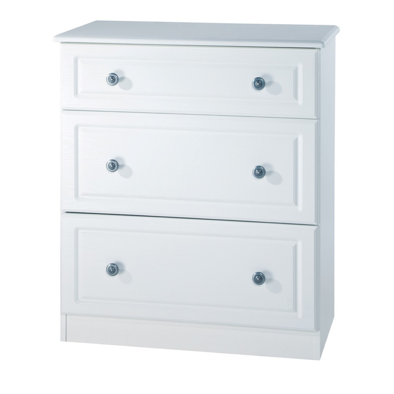 Welcome Furniture Pembroke 3 Drawer Deep Chest