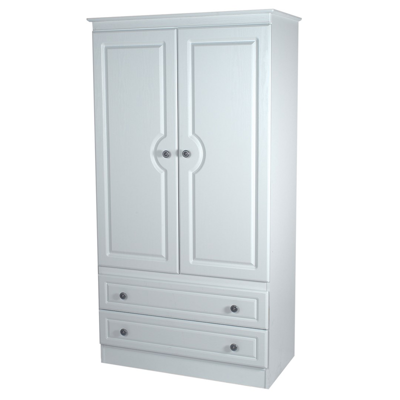 Welcome Furniture Pembroke 3' 2 Drawer Wardrobe