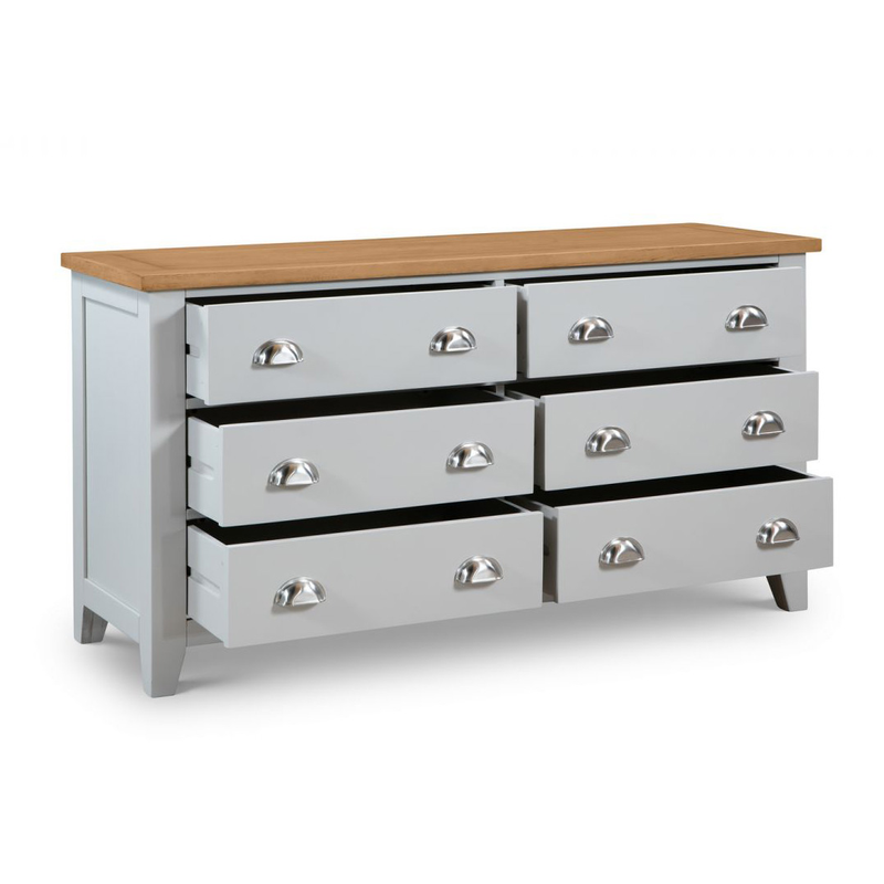 Julian Bowen Richmond 6 Drawer Chest