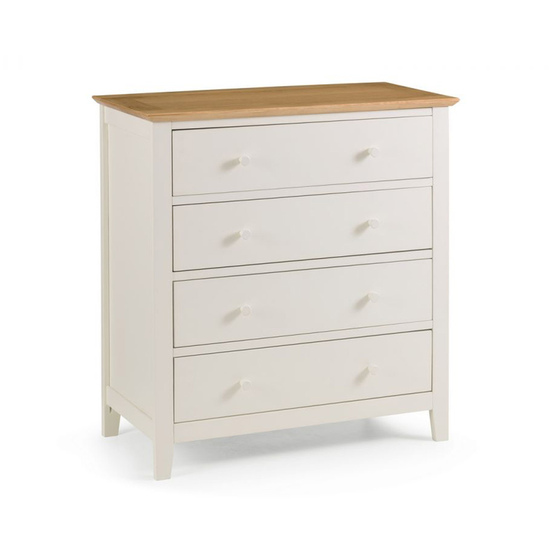 Julian Bowen Salerno 2-Tone 4 Drawer Chest