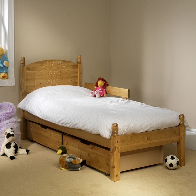Friendship Mill Teddy Bed Single Size