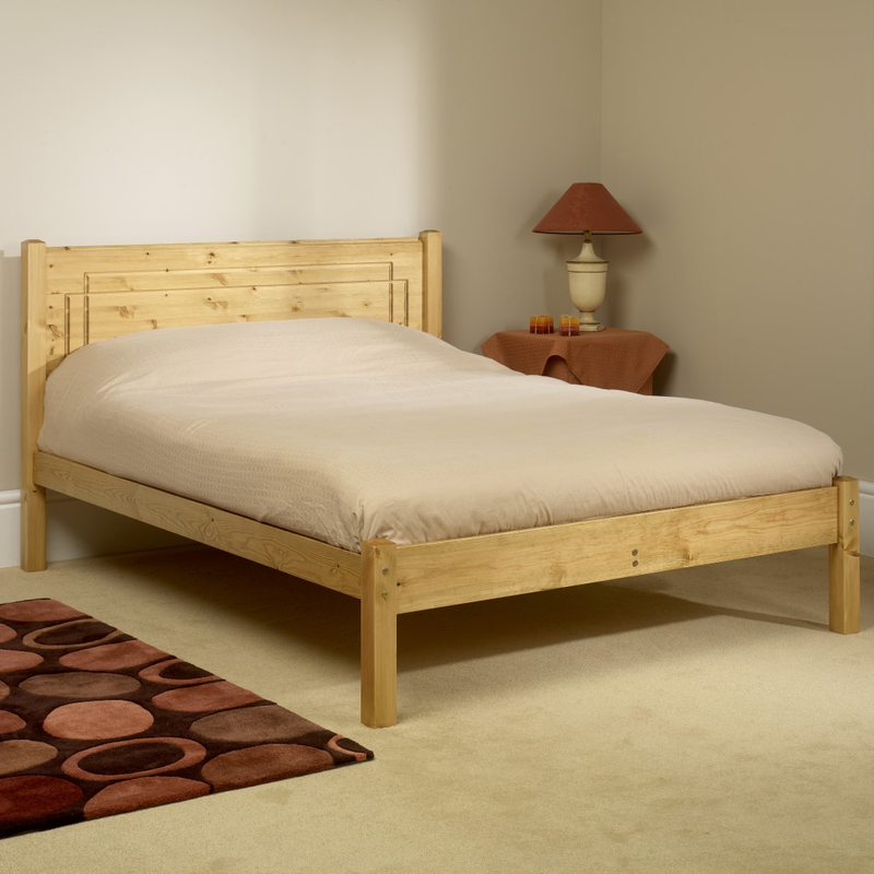 Friendship Mill Vegas Bed Double Size Pine
