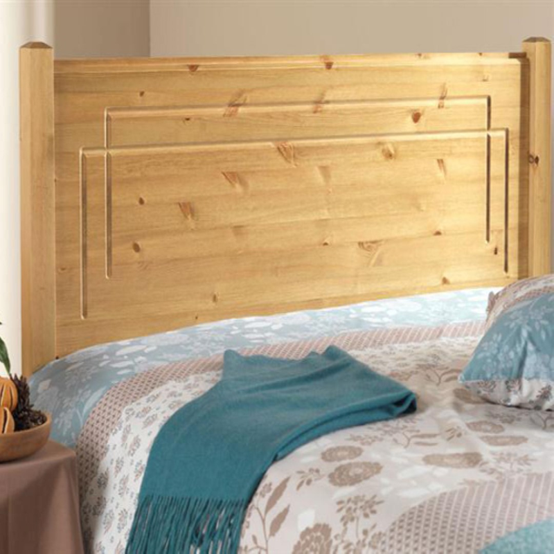 Friendship Mill Vegas Headboard Pine Small Double Size