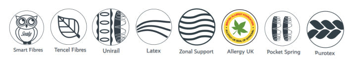 Sealy Casoli Latex icons