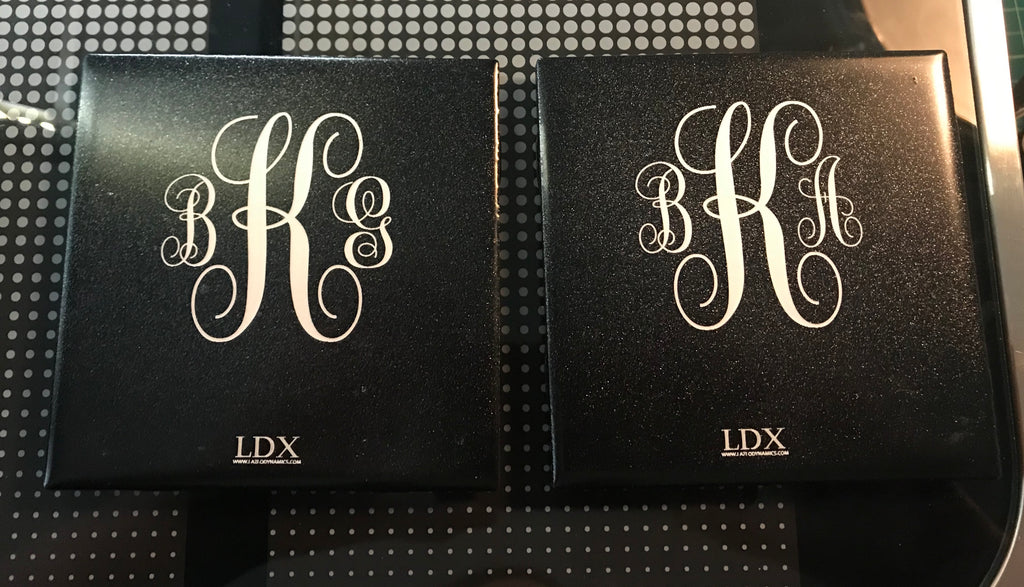 Custom Monogrammed Coasters - Set of 4