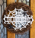 Halloween - personalized Front Door Sign