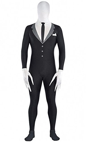 amscan Teen Slender-Man Partysuit - Medium (Up to 5')