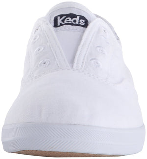 Keds Women's Chillax Seasonal Solid Slip On Sneaker, White, 7