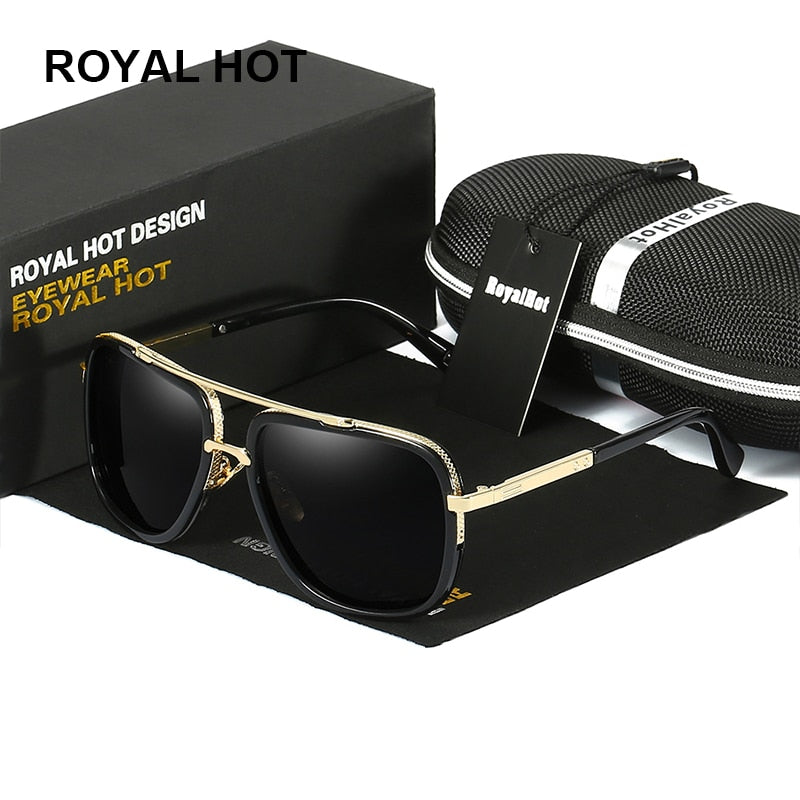 RoyalHot Retro for Dropshipping Own US Warehouse Men Women Polarized UV400 Sunglasses