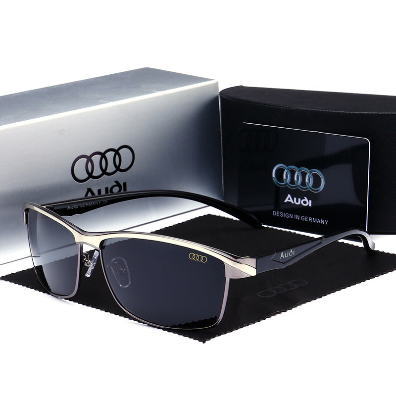Audi Polarized Sunglasses 554 Car 4S Shop Gift Wholesale Audi Driver Only Driving Glasses Men's 551