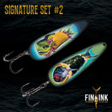 Artist Signature Set COMBO - 3 Sets of Lures
