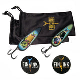 Artist Signature Set #2 - Brady Willmott - 2 Lures -  GIFT PACKAGING SET - The Baja Style & The Negitoro