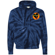 Load image into Gallery viewer, BK Logo Tie-Dyed Pullover Hoodie