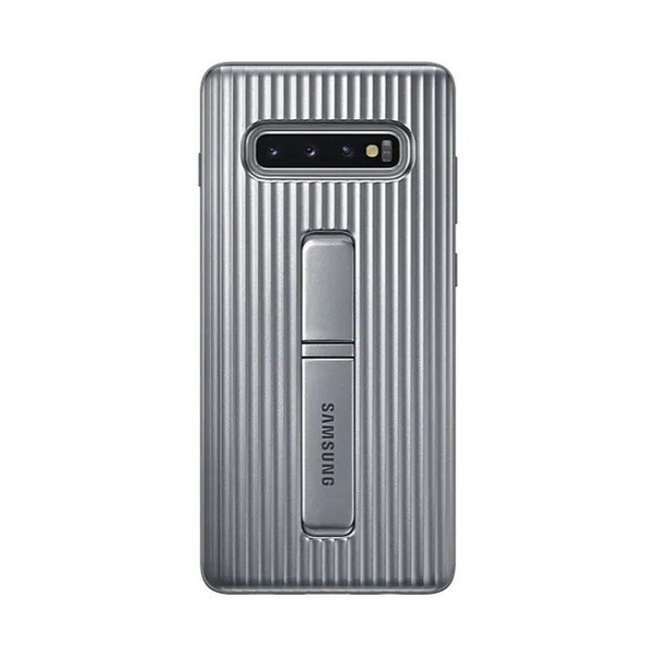 Galaxy S10+ Protective Standing Cover EF-RG975CSEGIN - Silver