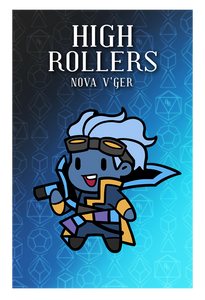 High Rollers Nova Pin Badge