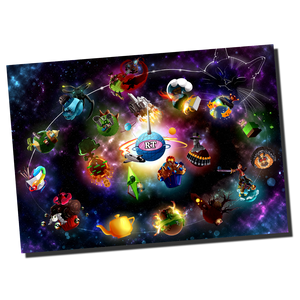 RTGame Galaxy Poster