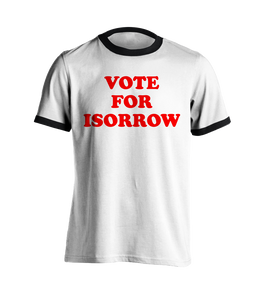 Vote Isorrow T-shirt