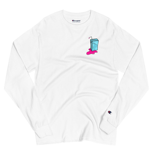 Juicebox Champion Long Sleeve Shirt (White)