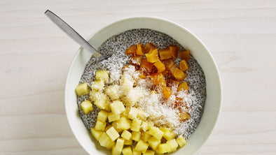 Pineapple Coconut Chia Pudding