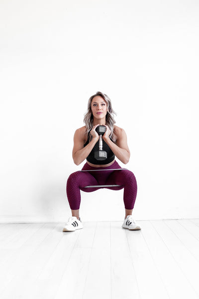 BootyQueen Apparel | Body Squats is a quick and effective home workout.