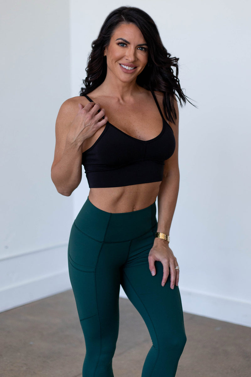 Beyond Basic Sports Bra - Black