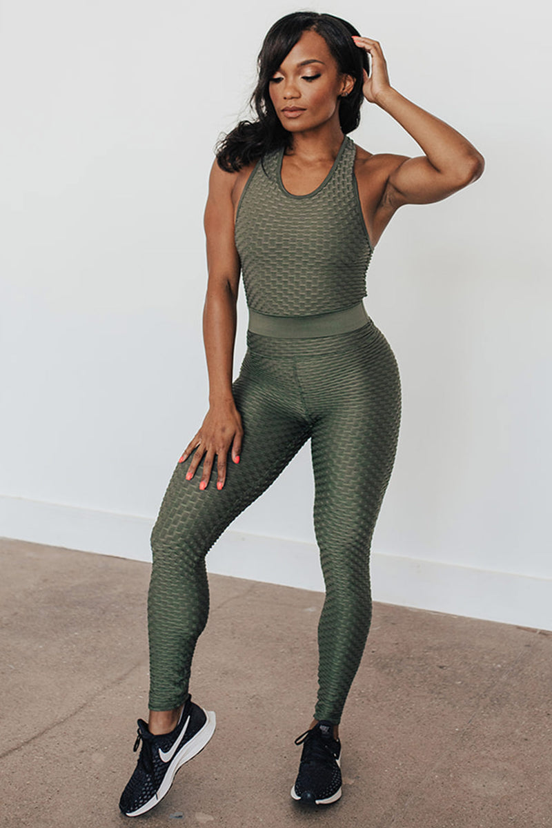 Ideal Legging - Olive Leaf