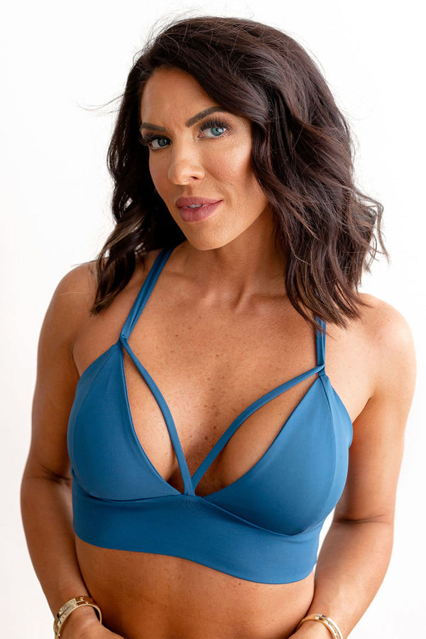 X-Body Sports Bra - Eclipse Blue