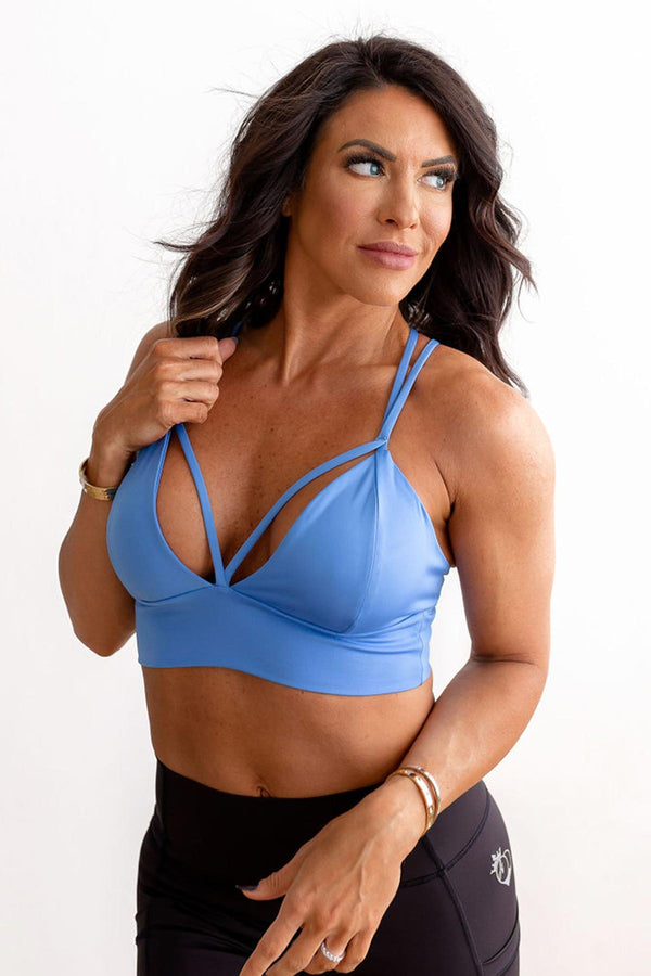 X-Body Sports Bra - Marina Blue