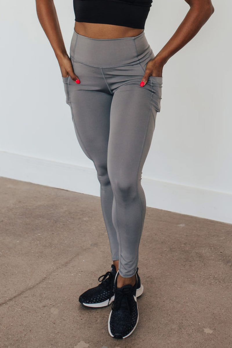 Beyond Basic Legging-Grey