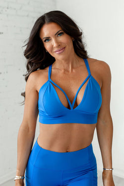 X-Body Sports Bra - Princess Blue