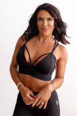 X-Body Sports Bra - Black