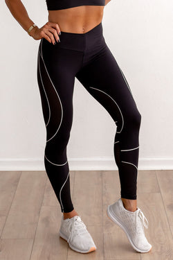 VIXEN Legging-Black/White