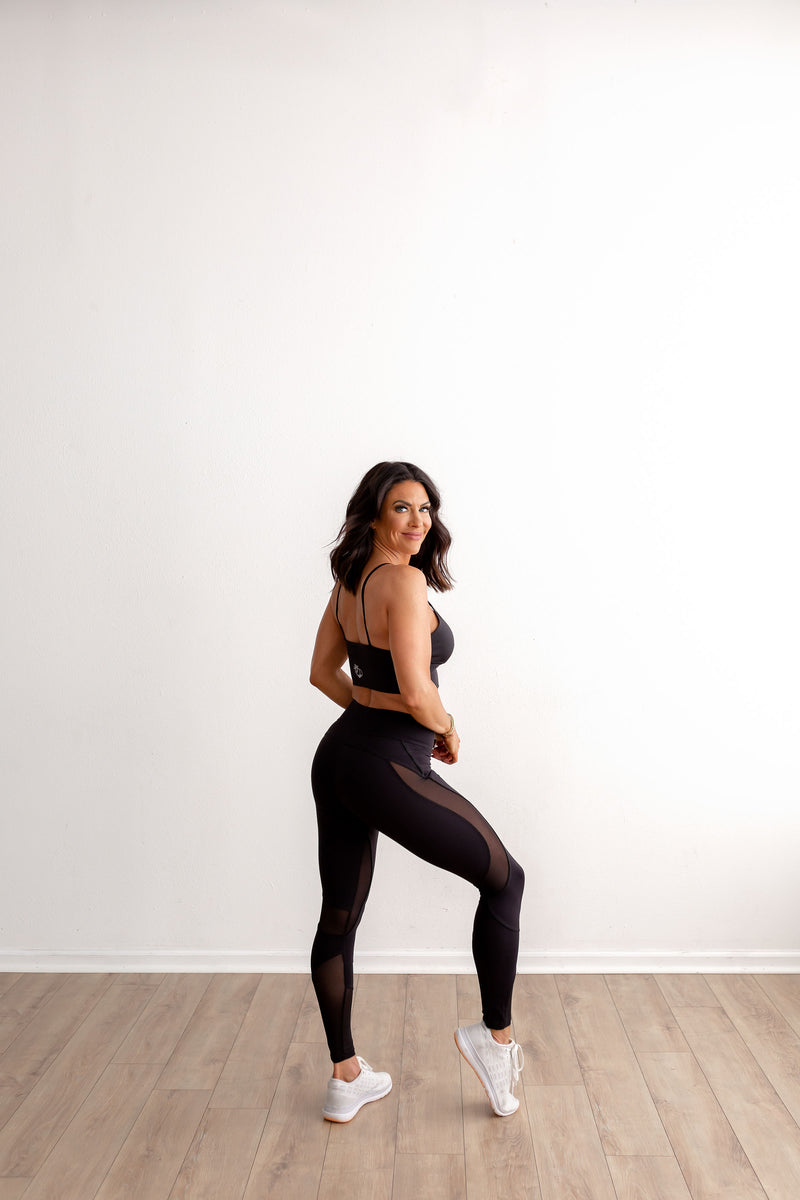 VIXEN Legging-Blackout