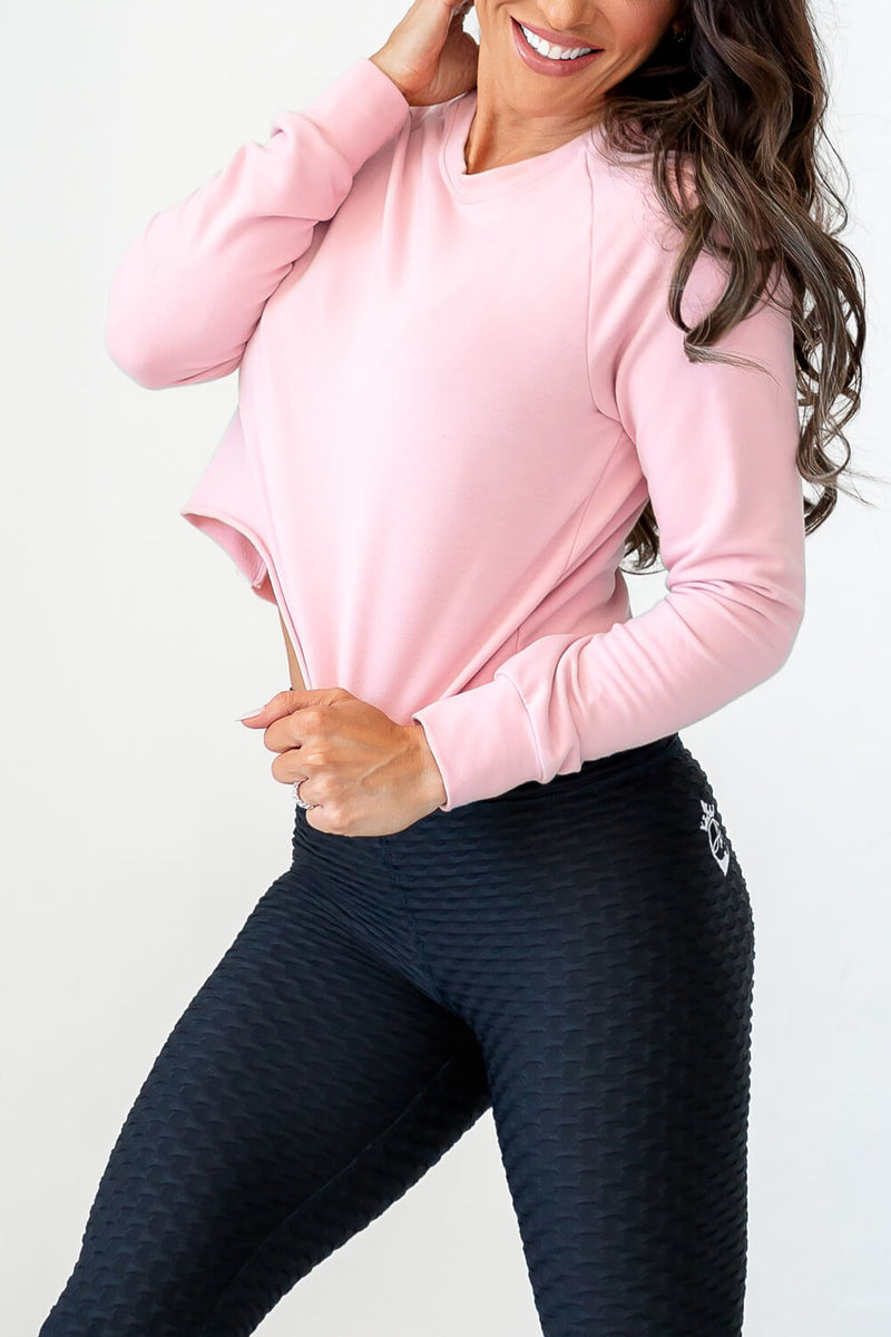 Ideal Pullover - Dusty Rose
