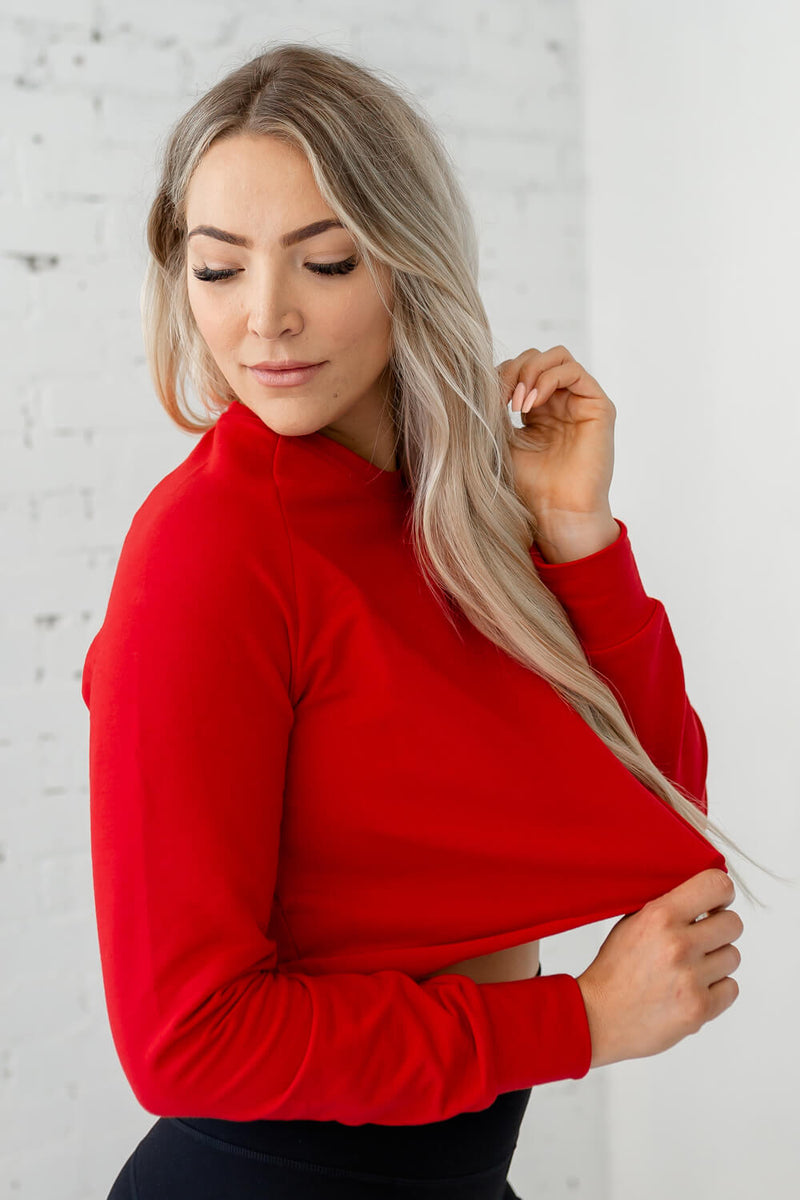 Ideal Pullover - Cayenne