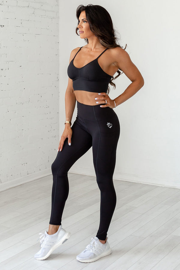 Beyond Basic Legging- Black