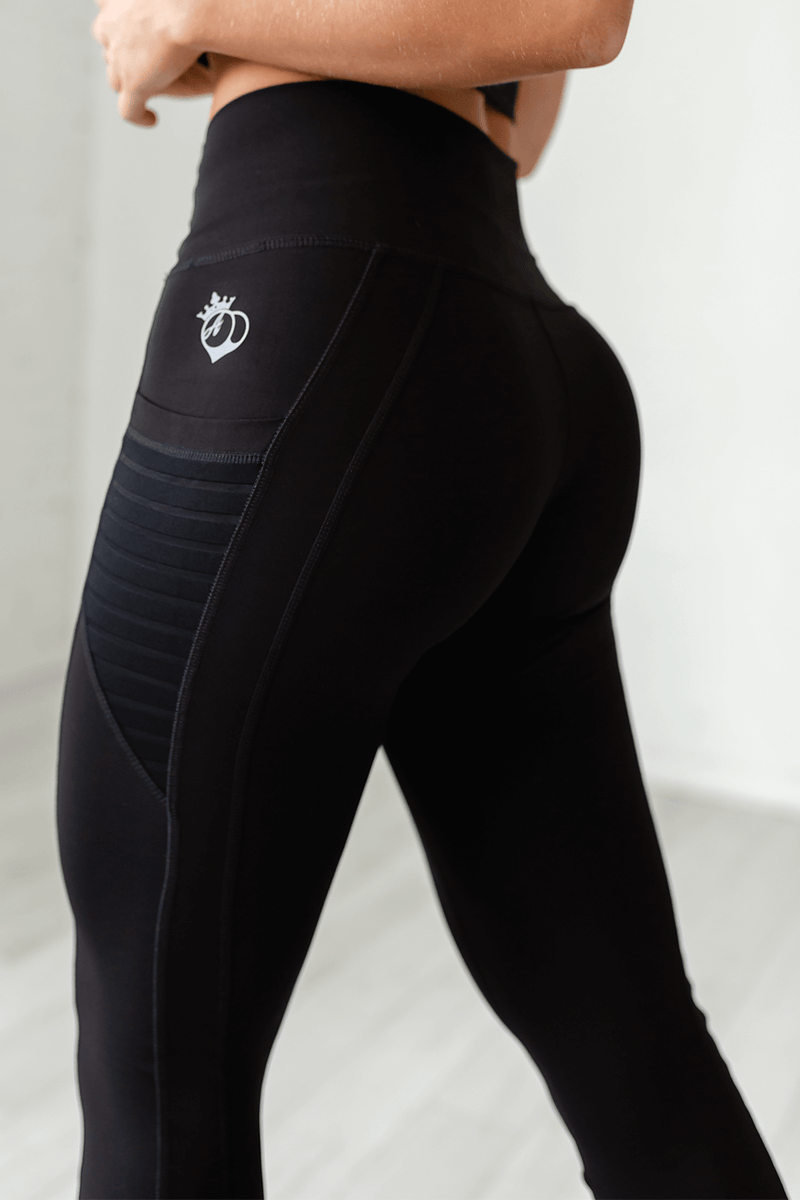 High-Waist Obsession Legging- Black