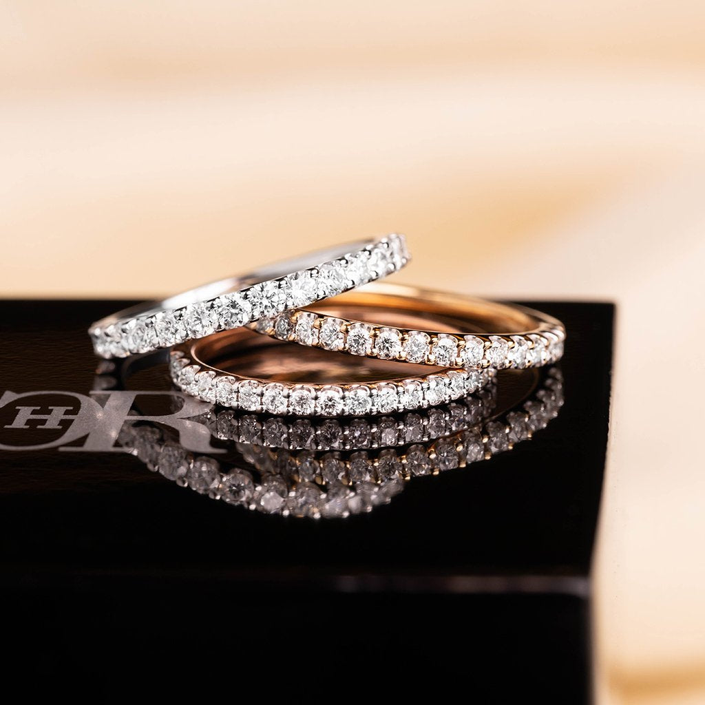 Womens Wedding Rings Bands Melbourne Charles Rose